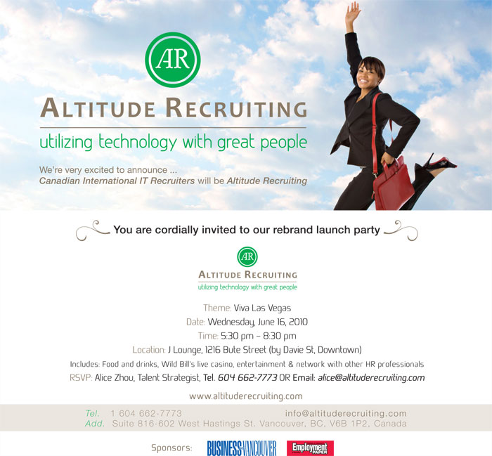 Altitude Recruiting company